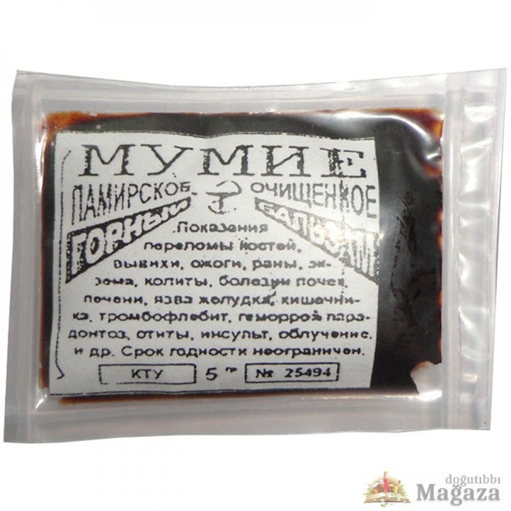 Mumya (Shilajit Мумиё) 5 Gram